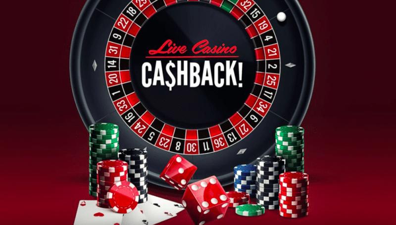 Rizk Casinon tervetuliaistatarjous live kasinolle - 25% käteispalautus