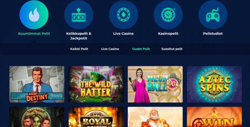 Peliaula Casino Planetilla
